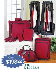 CLOTHES IT ALL LUGGAGE SYSTEM