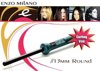 ENZO MILANO 13MM CURLING IRON