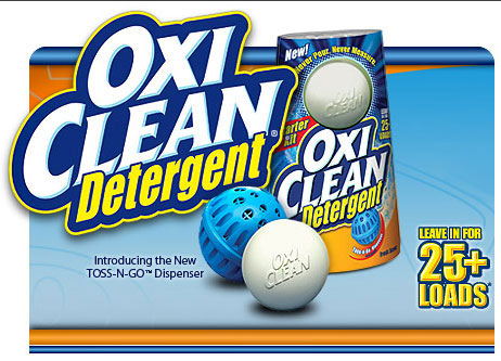 OXICLEAN DETERGENT BALL