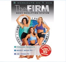 THE FIRM: BODY SCULPTING SYSTEM 3-PACK VHS